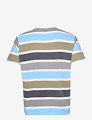 H2O - Maribo Tee - lyhythihaiset - white/grey/blue bell/army/navy - 1