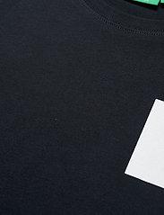 H2O - Lyø Organic Tee - basic t-shirts - navy/white - 2