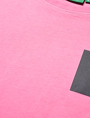 H2O - Lyø Organic Tee - perus t-paidat - sachet pink/dark grey - 2