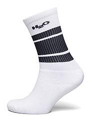 Crew Sock - WHITE/NAVY