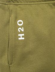H2O - Lolland Sweat Pant - sweatpants - army avocado - 3