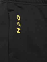 H2O - Lolland Sweat Pant - sweatpants - black/vibrant yellow - 2