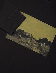 H2O - Romø Tee L/S - langærmede t-shirts - black - 2