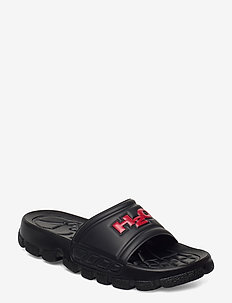 Trek Sandal - pool-sandalen - black/red