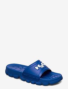 Trek Sandal - pool sliders - blue/white