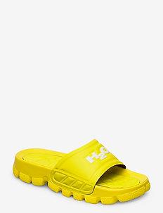 Trek Sandal - flade sandaler - citron/white