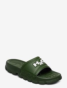 Trek Sandal - pool sliders - kale