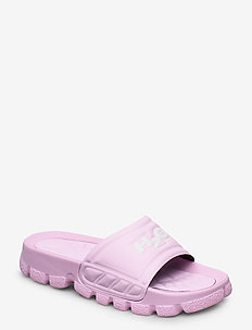 Trek Sandal - pool sliders - light pink/white
