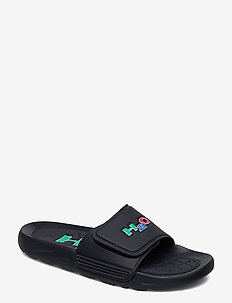 Adjustable Bathshoe - pool sliders - navy