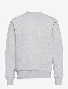 Couch Sweat O'neck - basic-sweatshirts - lt. grey mel