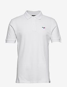 Lind Polo Shirt - polos à manches courtes - white