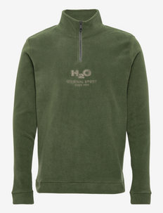 Blåvand II Fleece Half Zip - sweats - army