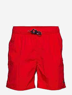 Leisure Swim Shorts - badebukser - red