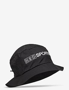 Omø Tech Bucket Hat - bucket hats - black