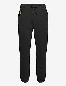Lolland Sweat Pant - sweatpants - black/vibrant yellow