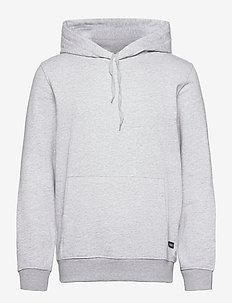 Rørvig Hoodie Sweat - hættetrøjer - lt. grey mel