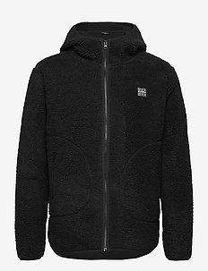 Langli Pile Jacket - vindjakker - black