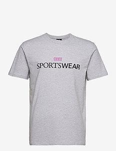 Dragør Tee - kortærmede t-shirts - lt. grey mel