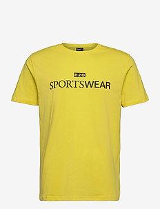 Dragør Tee - kortærmede t-shirts - vibrant yellow