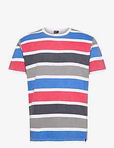 Maribo Tee - kortærmede t-shirts - white/grey/blue/red/navy