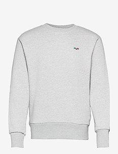 Base Sweat O'neck - basic sweatshirts - lt. grey mel