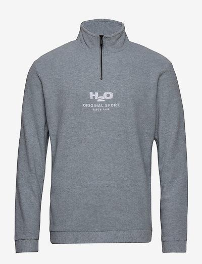 Blåvand Fleece Half Zip - välitakit - lt. grey mel