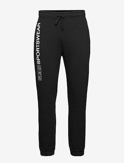 Anholt Sweat Pant - collegehousut - black