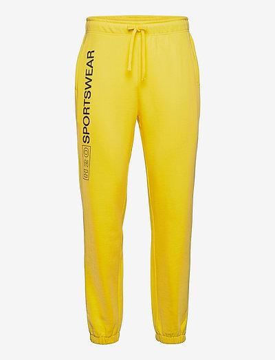 Anholt Sweat Pant - collegehousut - light yellow