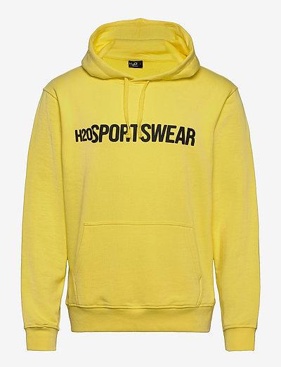 Bjørnø Hooded Sweat - hupparit - light yellow