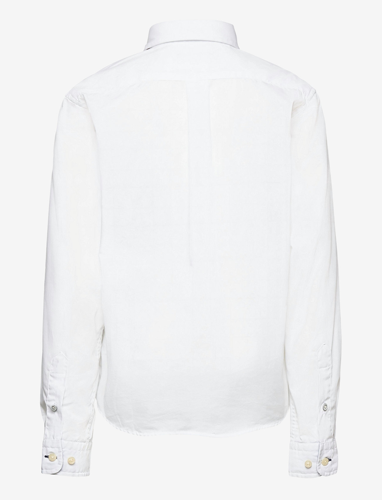 Hackett London - PLAIN POPLIN Y - overhemden - 800white - 1