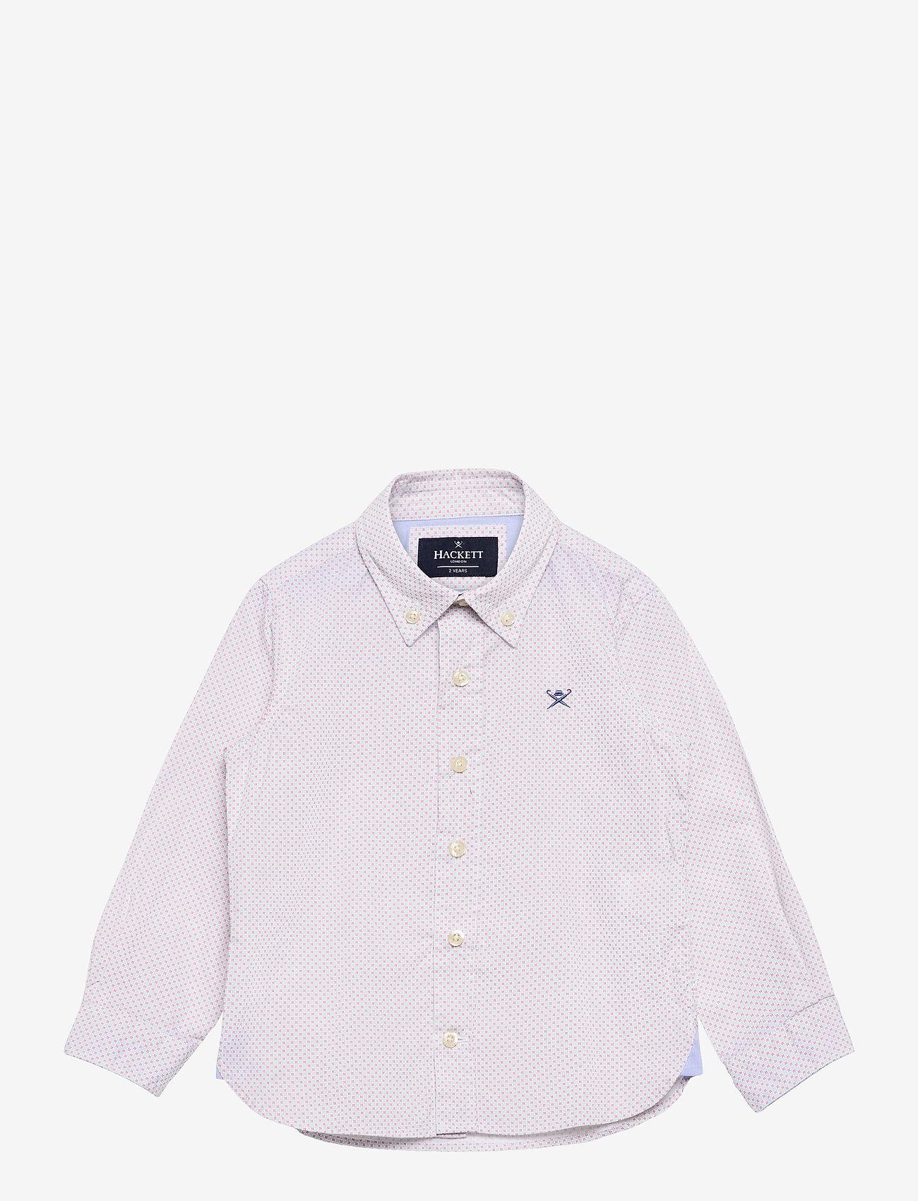 Hackett London - COLOUR GRID PRINT B - overhemden - blue/white - 0