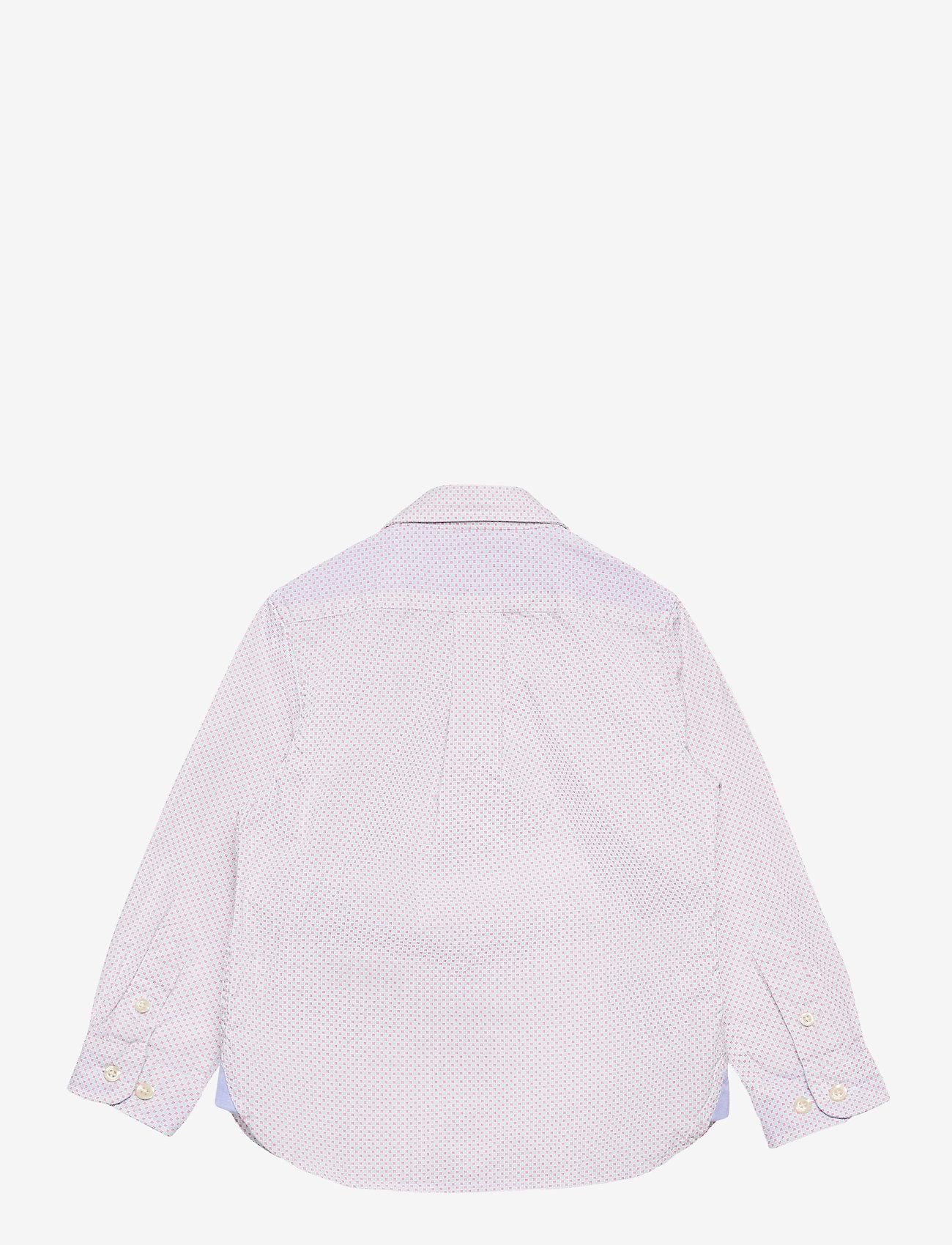 Hackett London - COLOUR GRID PRINT B - overhemden - blue/white - 1