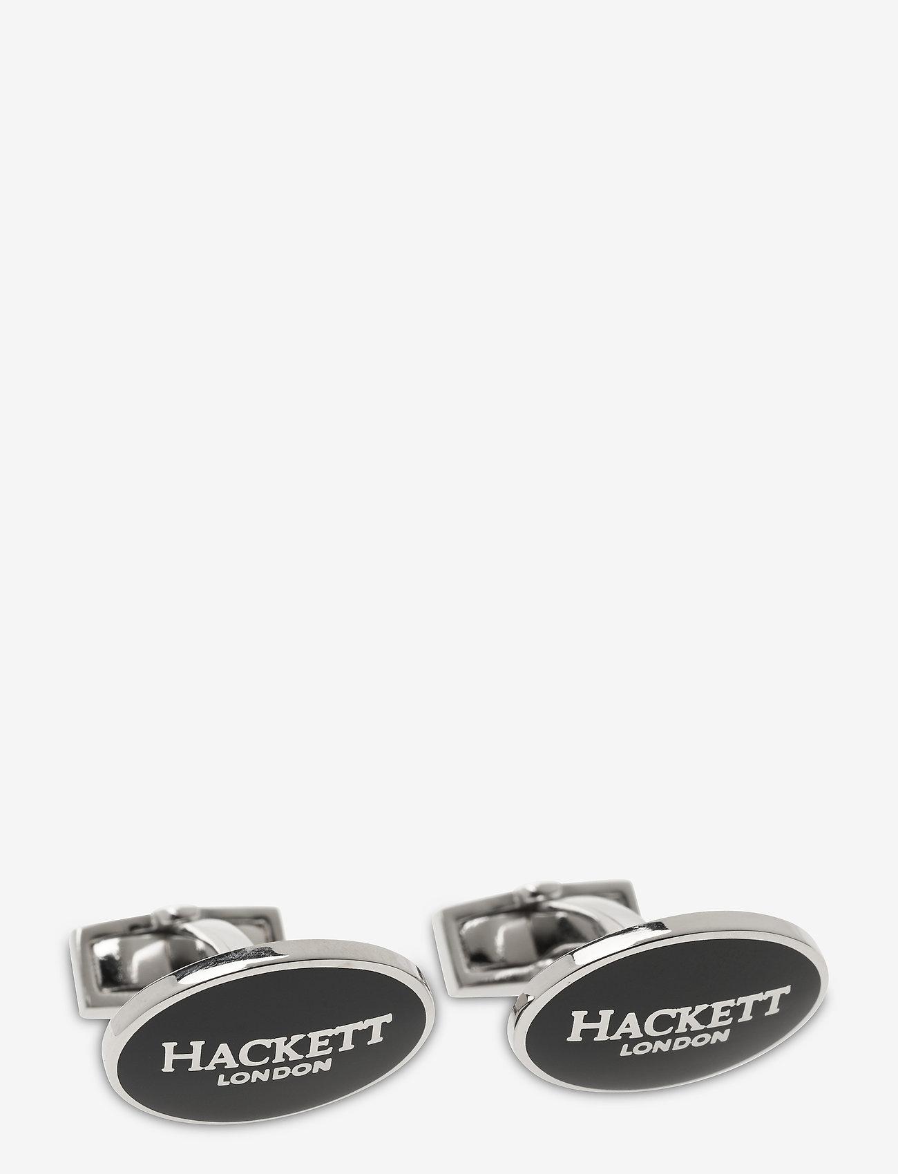 Hackett London - OVAL HACKETT LOGO - manschettknappar - 595navy - 0