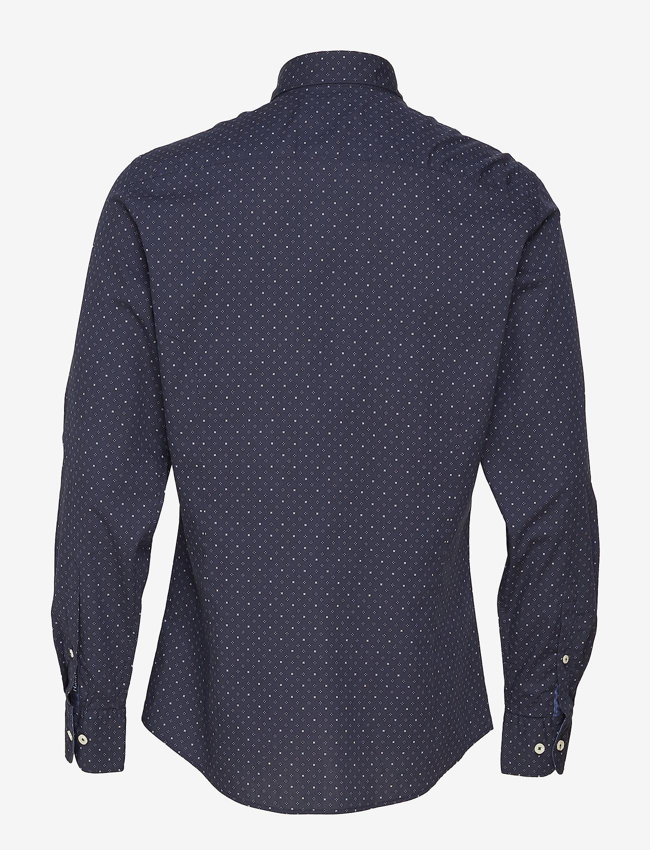 Hackettdots And Crosses Print - Hemden