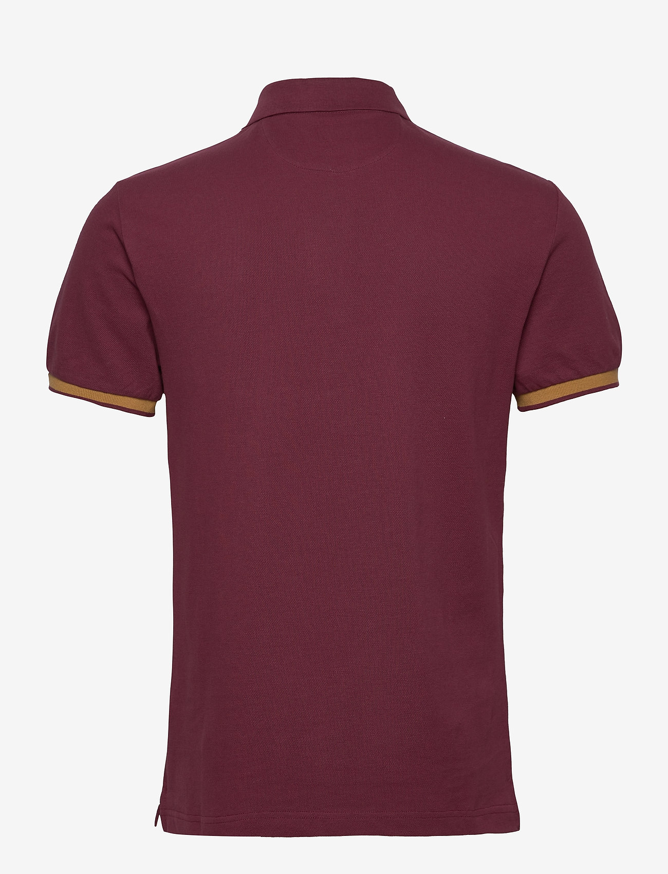 Hackett London BLACKWATCH CREST - Poloskjorter OXBLOOD - Menn Klær