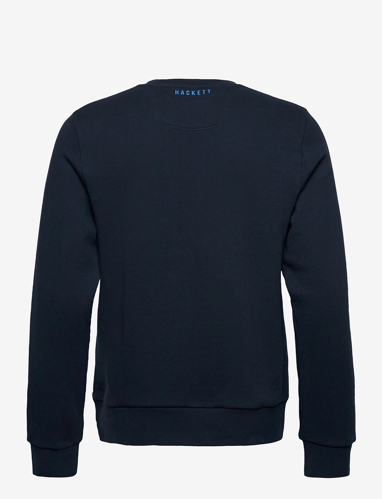 Hackett London AMR LOGO CREW - Sweatshirts NAVY - Menn Klær