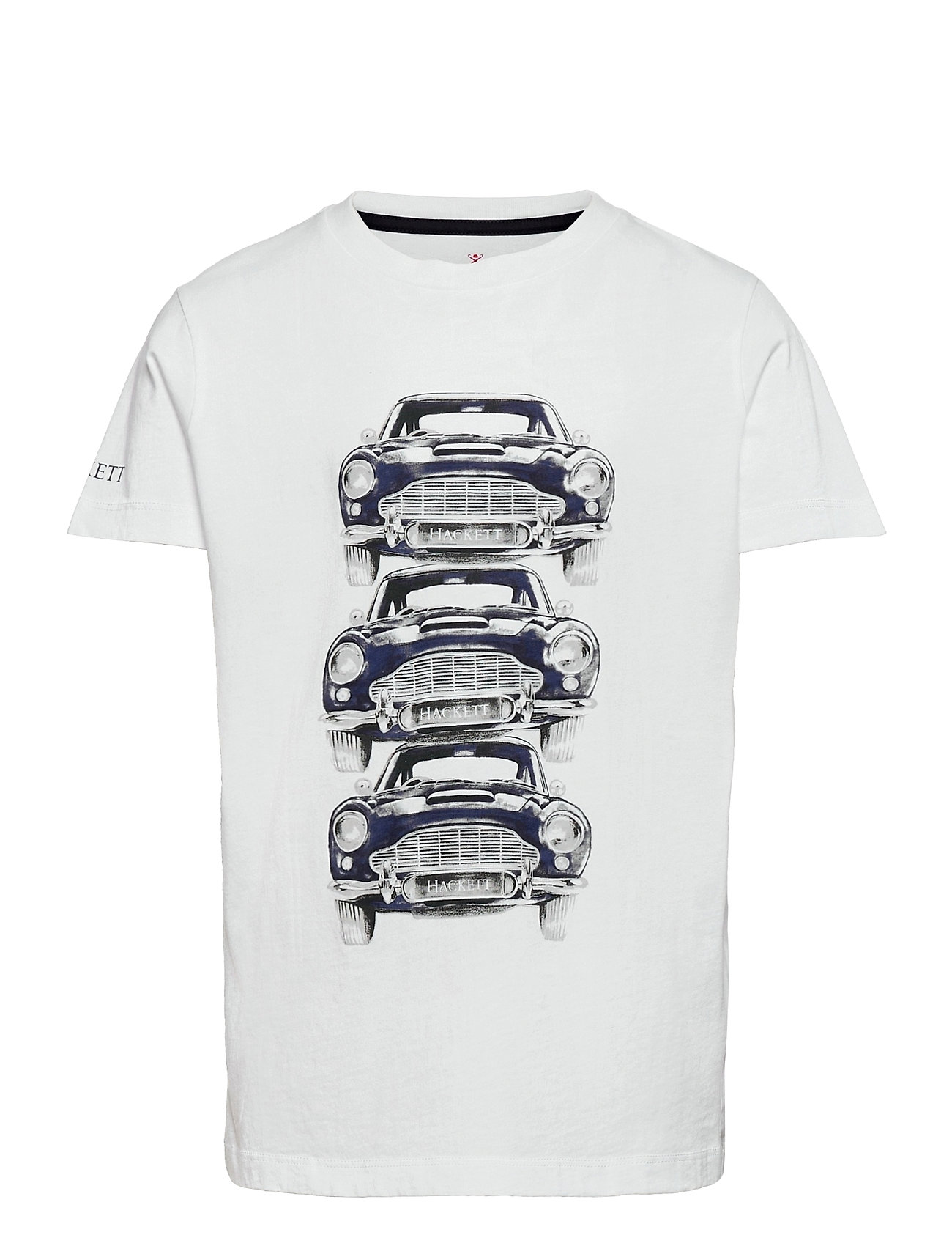 Stacked Cars T B T-shirt Hvid Hackett London