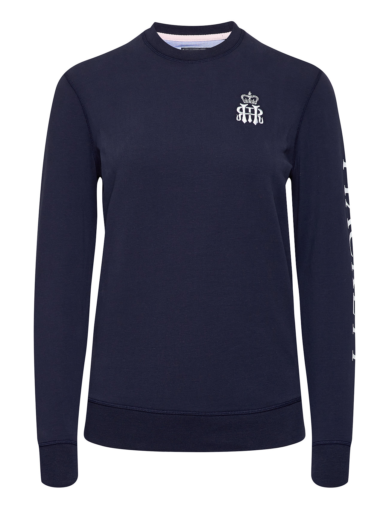 Image of Hrr Hkt Crew W Sweatshirt Trøje Blå Hackett London (3438743581)