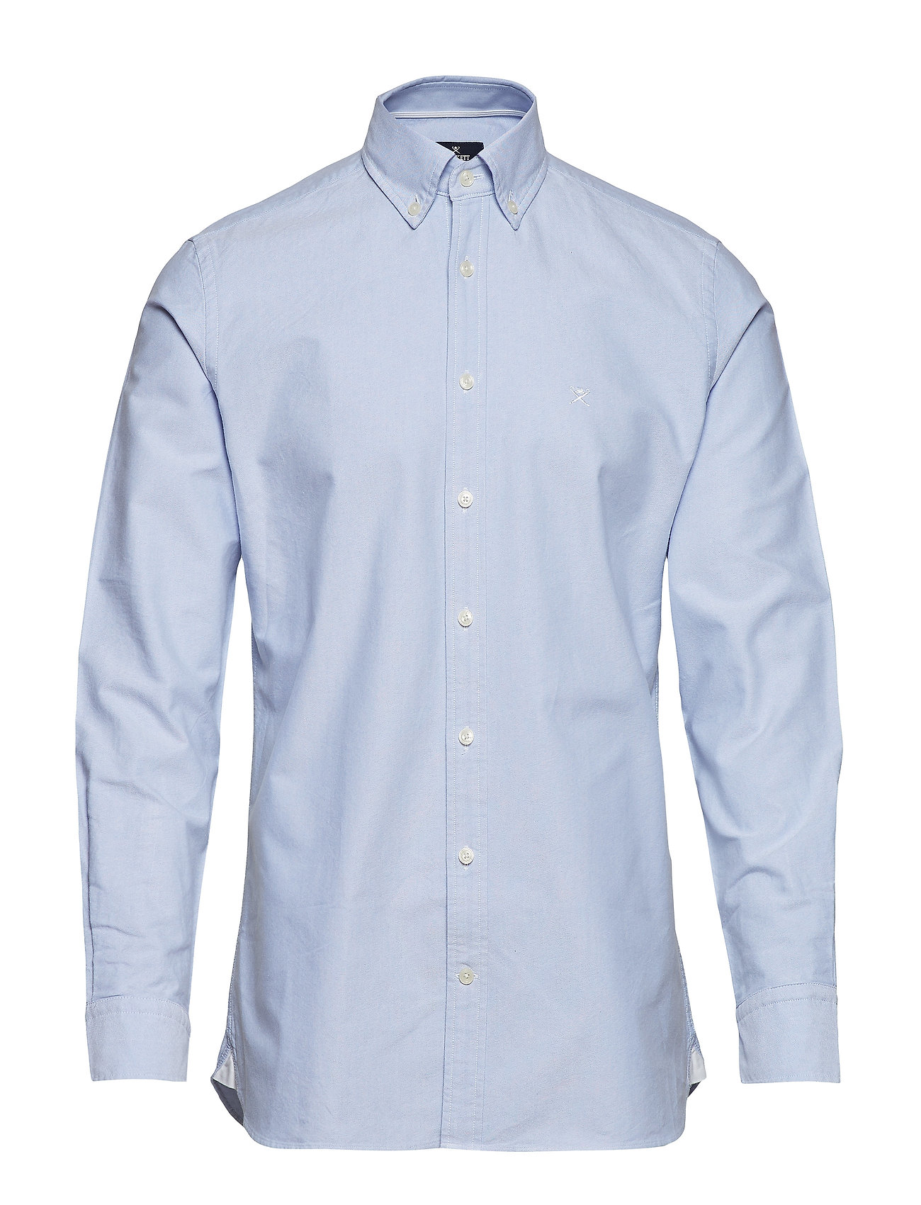 Hackett SLIM WASHED OXFORD - SKY
