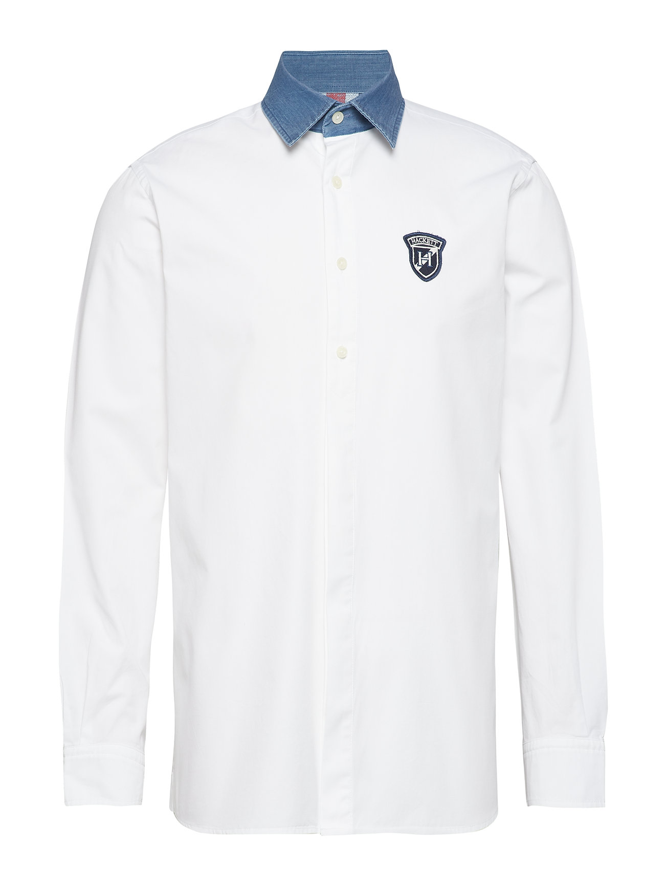 Hackett RUGBY DMCOLLAR ARCHIVE - 8AJWHITE/MULTI