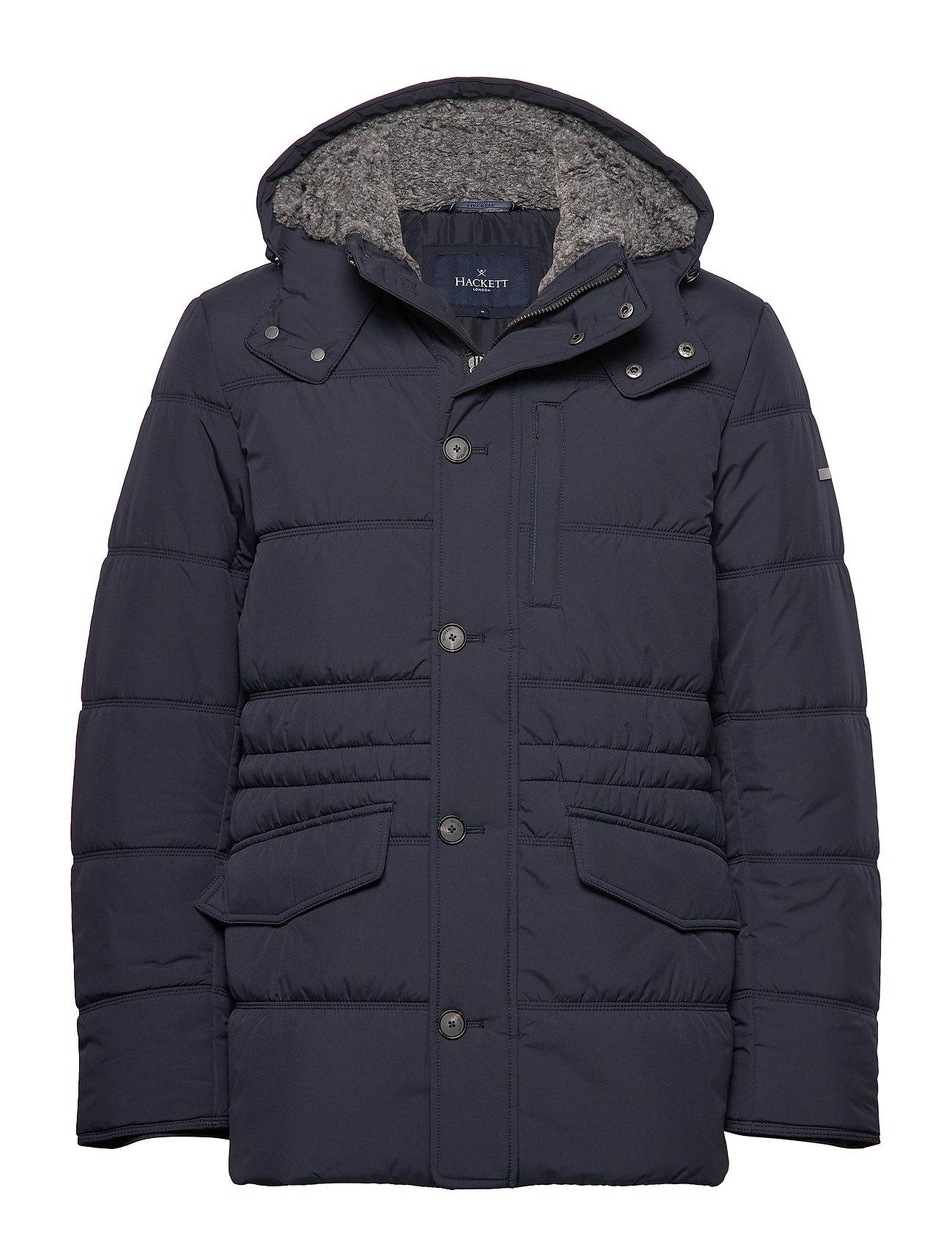 HACKETT Polar Fleece Anorak Gefütterte Jacke Blau HACKETT