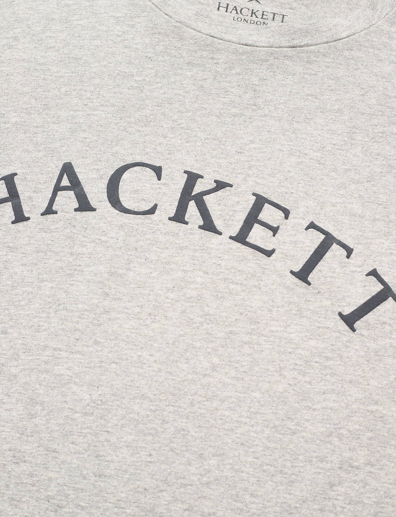 Hackett London GBK TEE - T-skjorter GREY MARL - Menn Klær