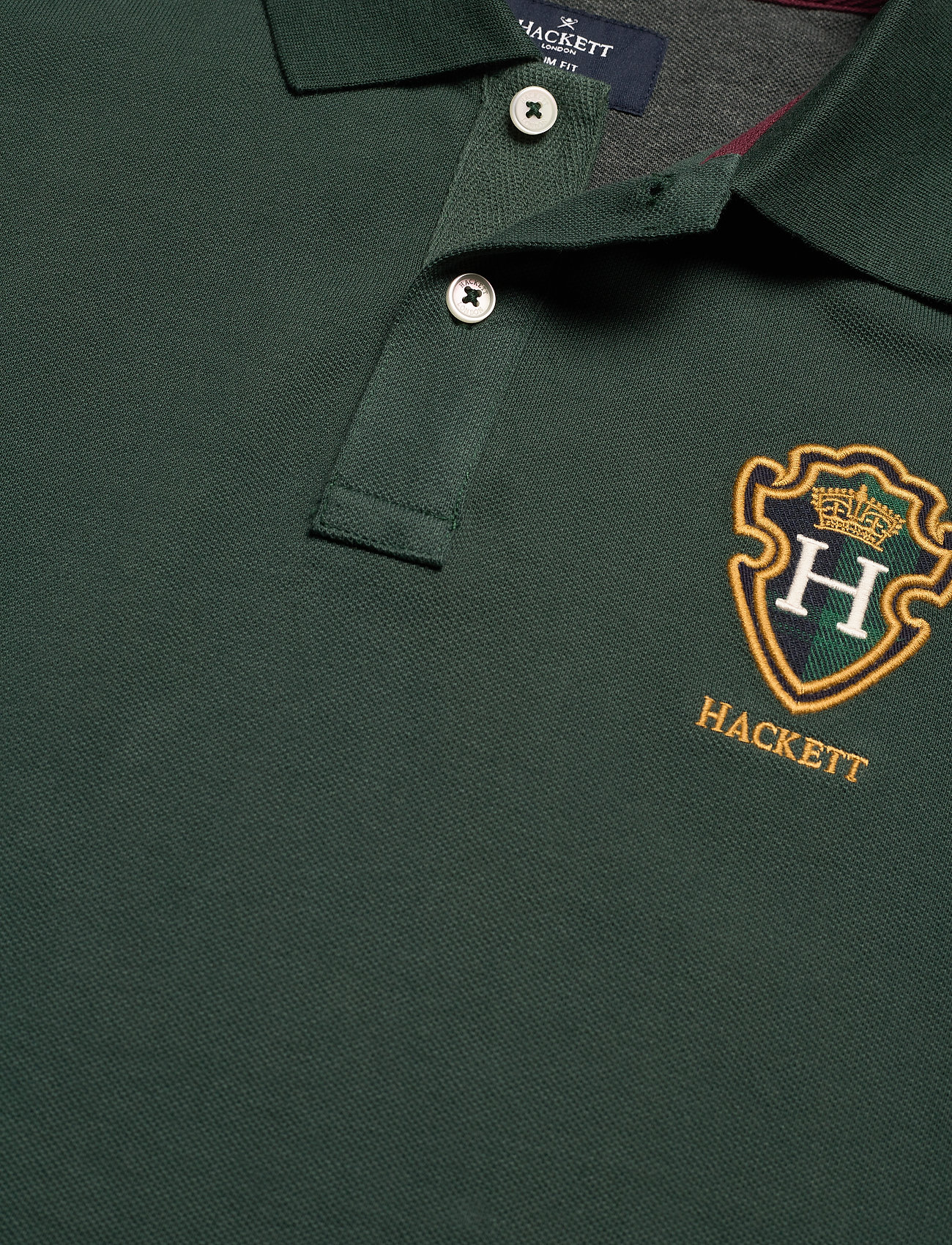 Hackett London BLACKWATCH CREST - Poloskjorter 6FN - Menn Klær
