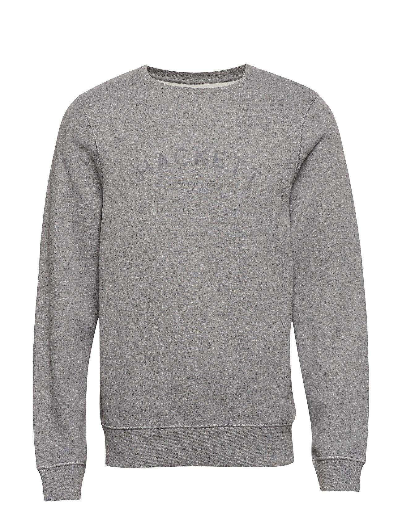 Hackett CLASC LOGO CREW - 933GREY MARL