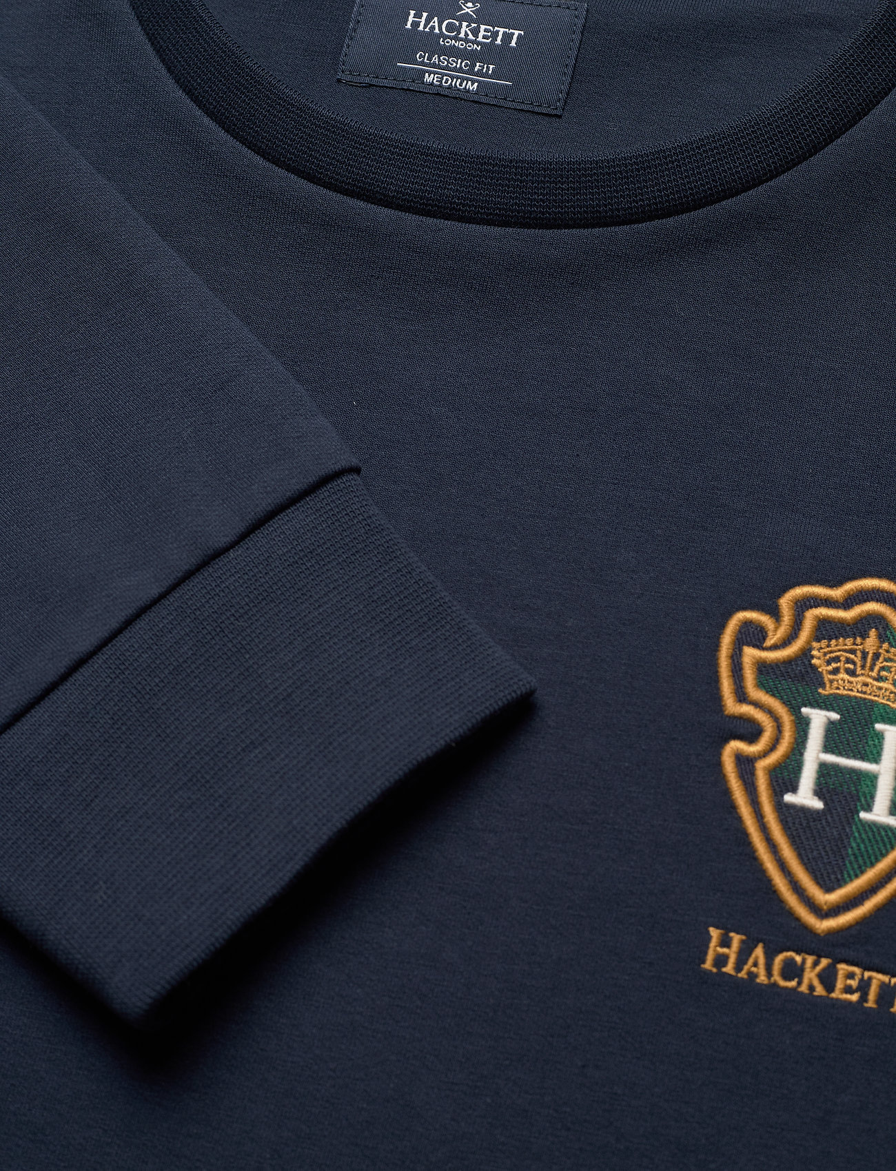 Hackett London BLACKWATCH CREW - Sweatshirts NAVY - Menn Klær