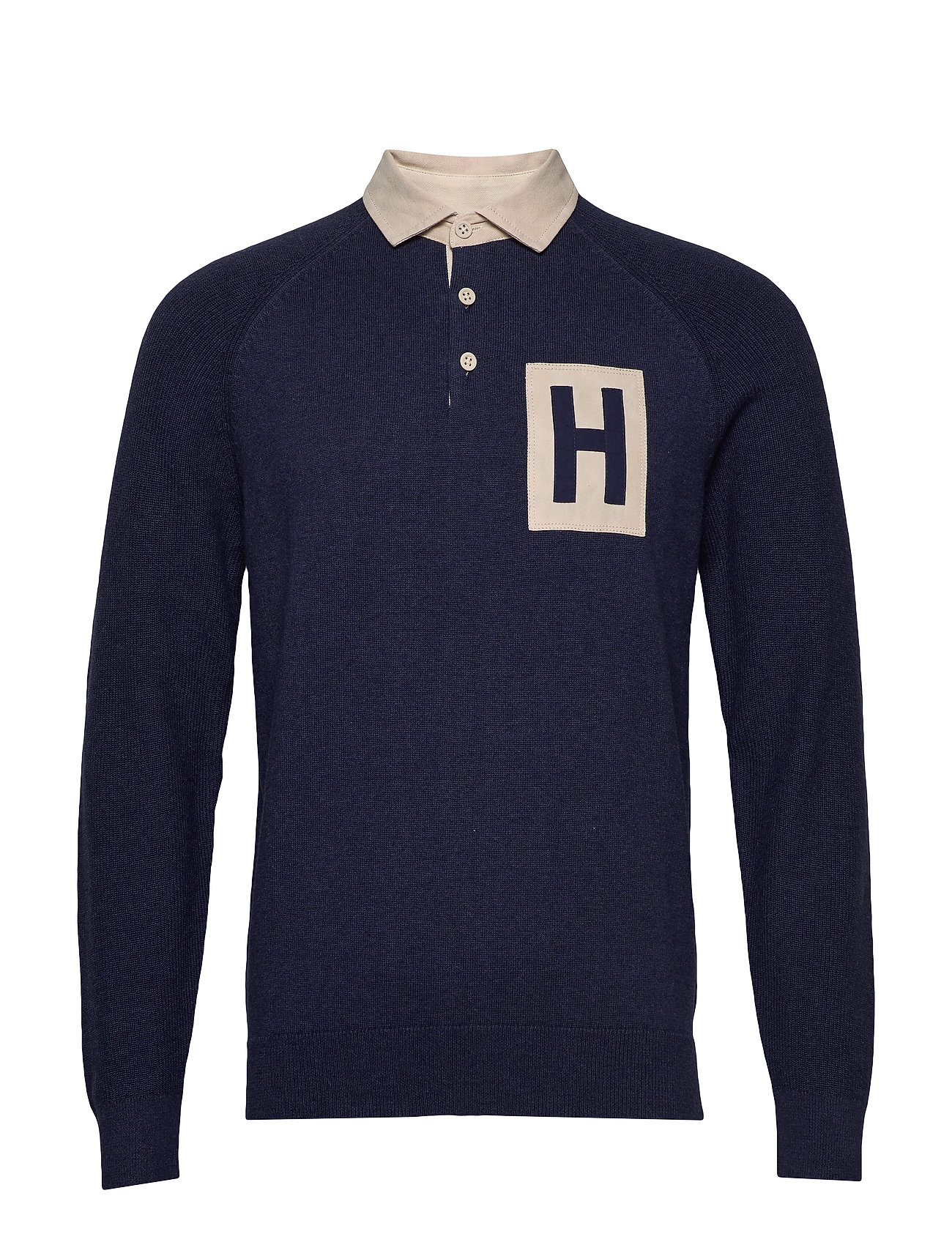 Hackett ARCHIVE KNITTED RUGBY - 595NAVY