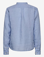Hackett London - PLAIN LINEN Y - shirts - 513sky - 1