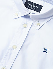 Hackett London - PLAIN POPLIN Y - shirts - 513sky - 2
