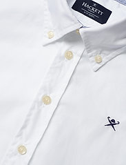 Hackett London - PLAIN POPLIN Y - overhemden - 800white - 2