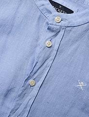 Hackett London - PLAIN LINEN Y - shirts - 513sky - 2